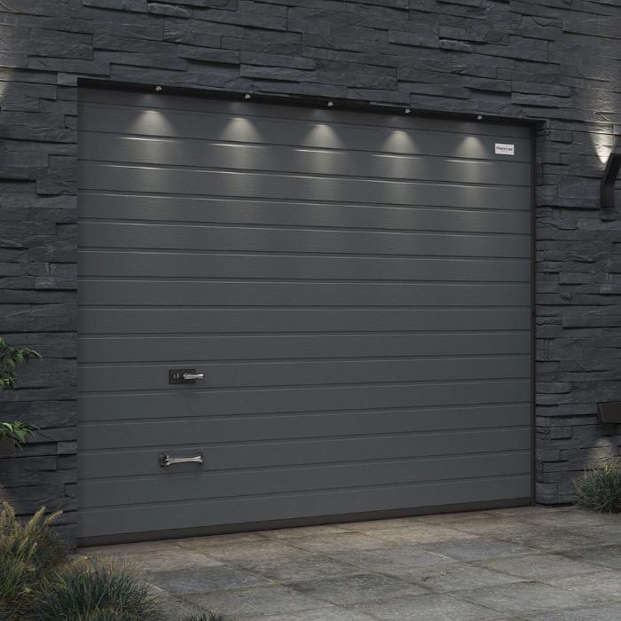 Nouvelle collection  de poignées Black Chrome pour la porte de garage Prestige